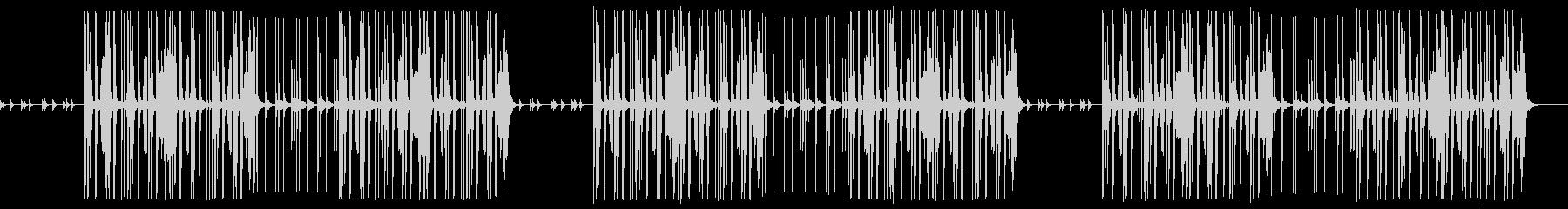 ほのぼのした謎解きのようなかわいいBGMの未再生の波形