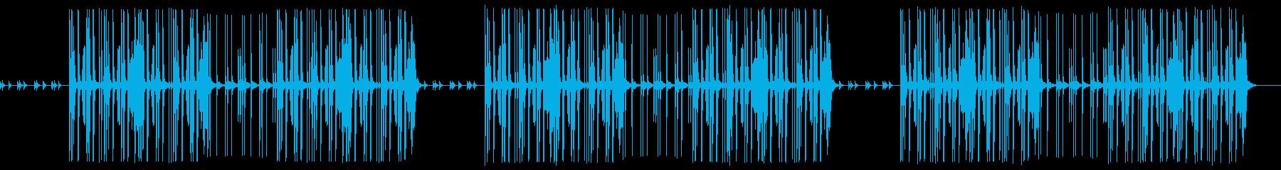 ほのぼのした謎解きのようなかわいいBGMの再生済みの波形