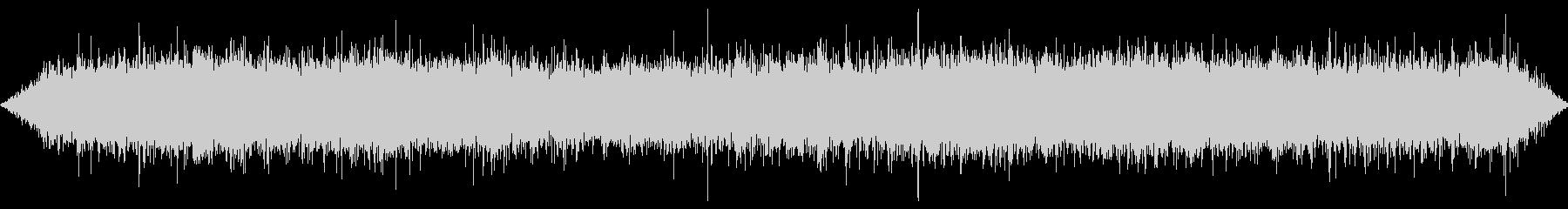 水路の滝の音(中サイズ)の未再生の波形
