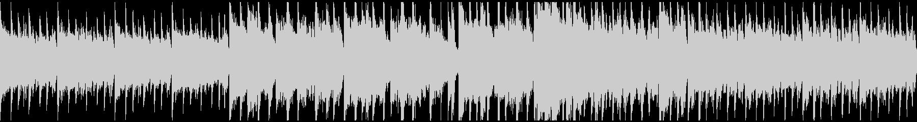サックスとピアノのミディアムPOPSの未再生の波形