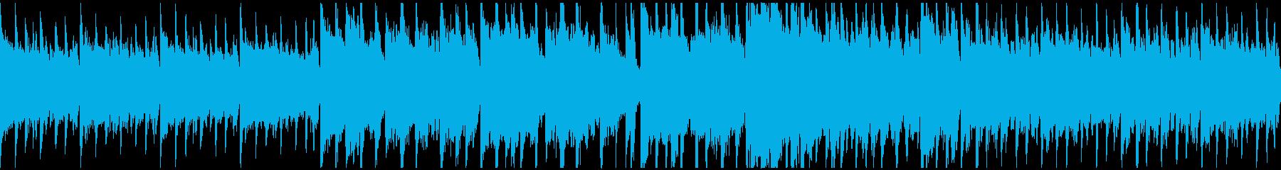 サックスとピアノのミディアムPOPSの再生済みの波形