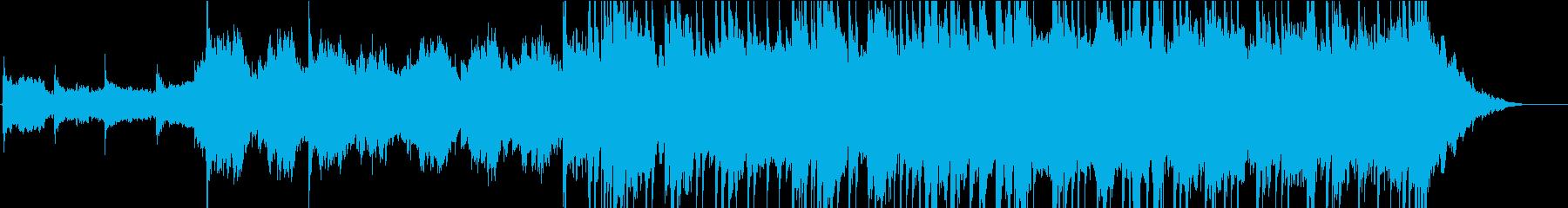 UKロック風バンドとストリングスの再生済みの波形