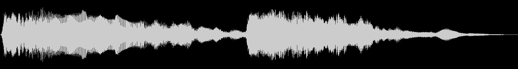 パワーバンドスイープ1の未再生の波形