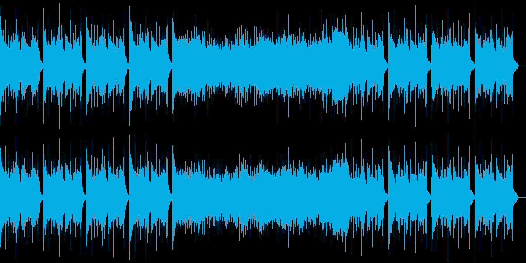 攻め攻めなバウンスEDMの再生済みの波形