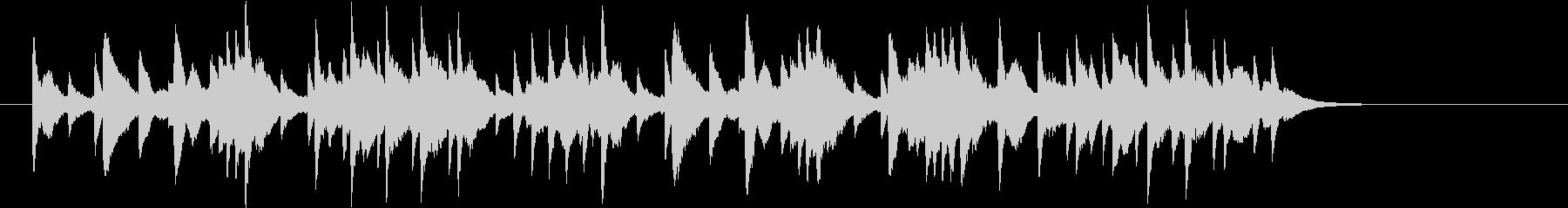 交響曲「時計」 オルゴール クラシックの未再生の波形
