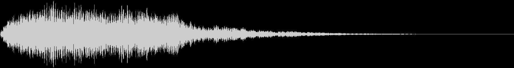 【ホラーゲーム】不意打ち_シンバル_03の未再生の波形