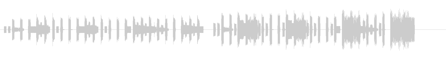ハッピーバースデー ファミコン 速めの未再生の波形
