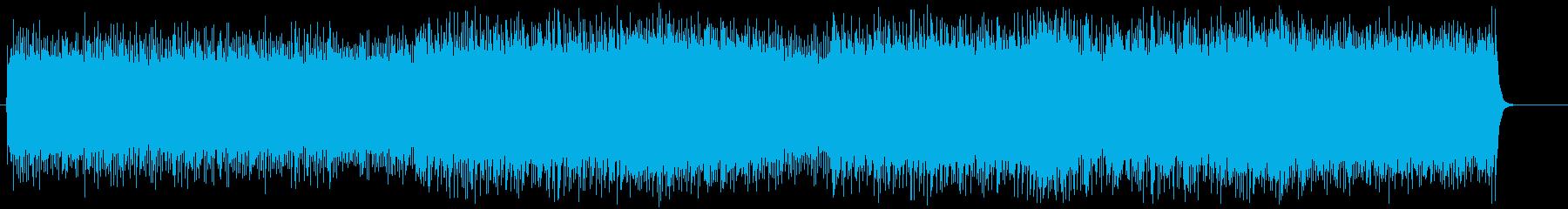 ヘヴィーでダークサイドなメタルサウンドの再生済みの波形