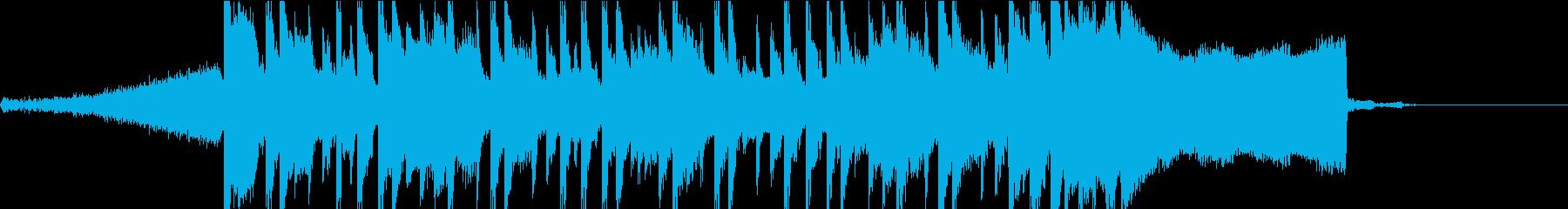 短いCM等に使えそうなEDMの再生済みの波形