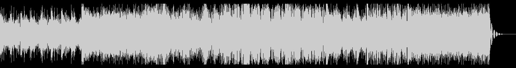 壮大さのあるシネマティックBGMの未再生の波形
