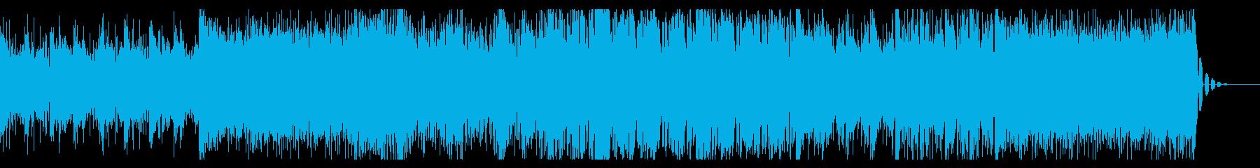 壮大さのあるシネマティックBGMの再生済みの波形