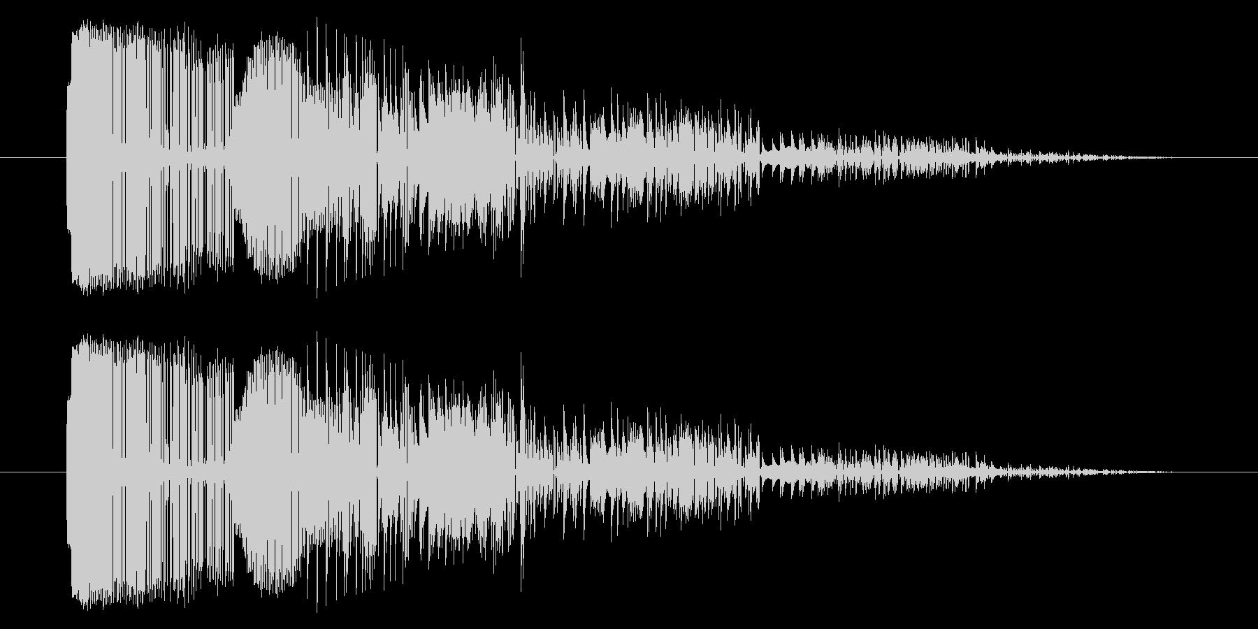 GB シューティング01-06(ミス)の未再生の波形