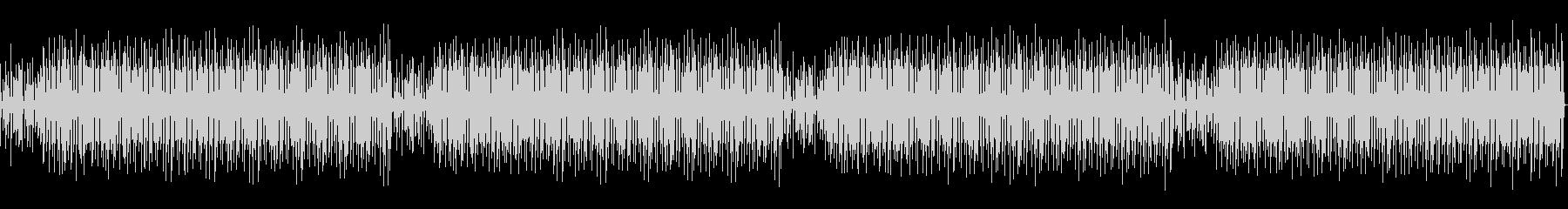 音声を邪魔しないエモいトークBGMの未再生の波形