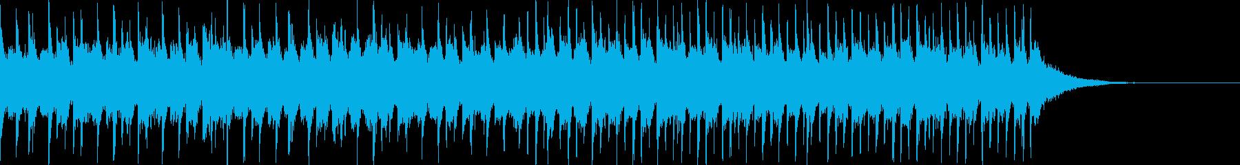 フワフワした雰囲気のトロピカルハウスの再生済みの波形