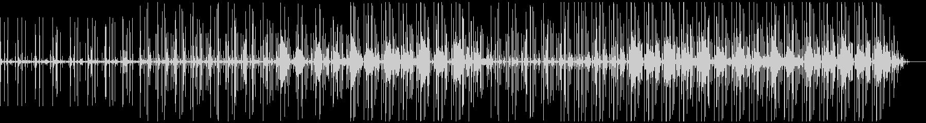 エレクトロ/ドラムループ。繰り返し...の未再生の波形