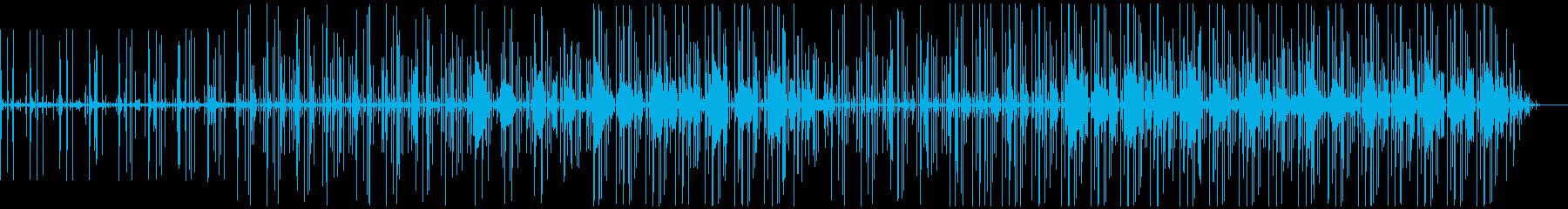 エレクトロ/ドラムループ。繰り返し...の再生済みの波形