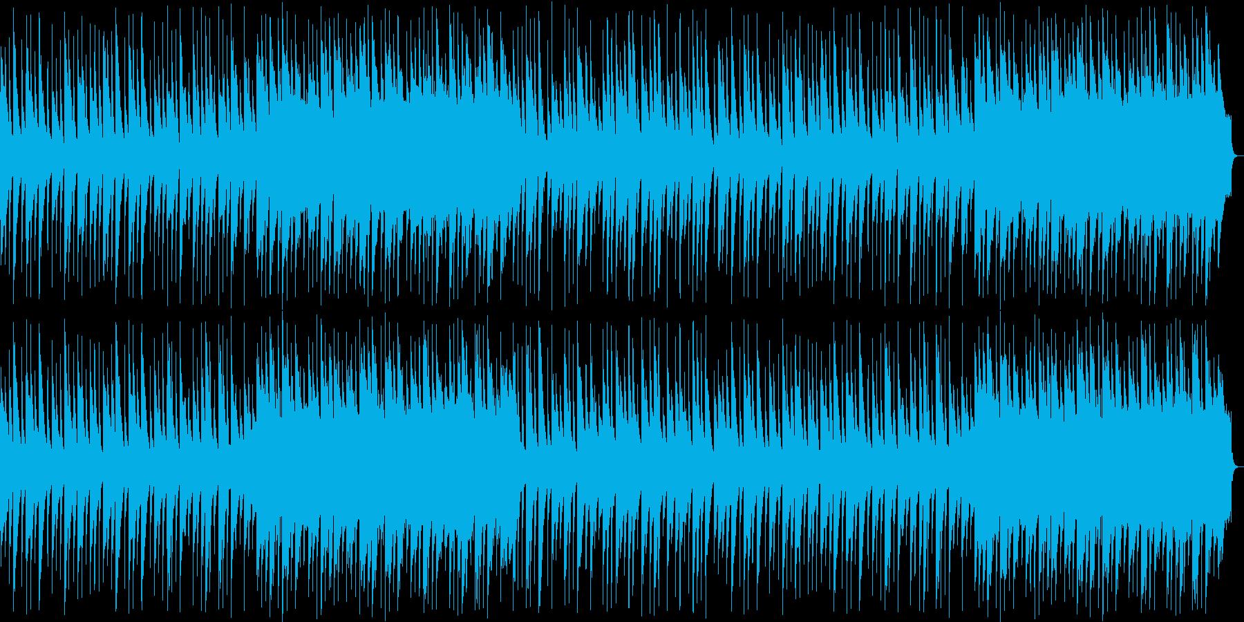 優しい琴の和風BGMの再生済みの波形
