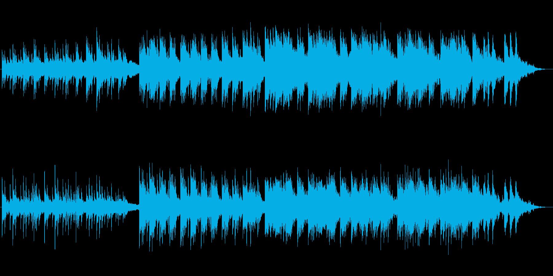 ピアノとアコギによる切ないバラードの再生済みの波形