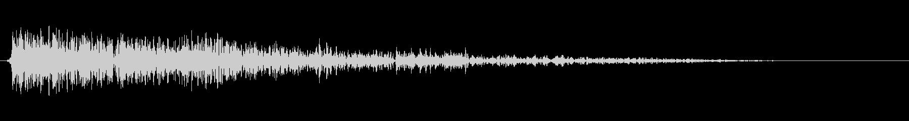 大規模な爆発ヴィンテージ録音;爆発と爆弾の未再生の波形