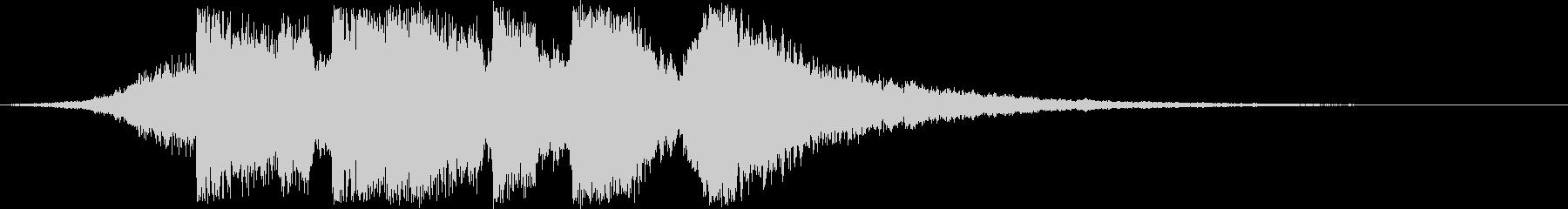 ジングル_ステージクリアの未再生の波形