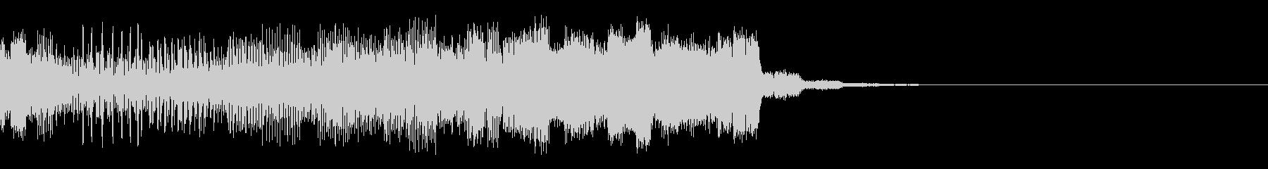 パチンコ的アイテム獲得音02(電子音)の未再生の波形