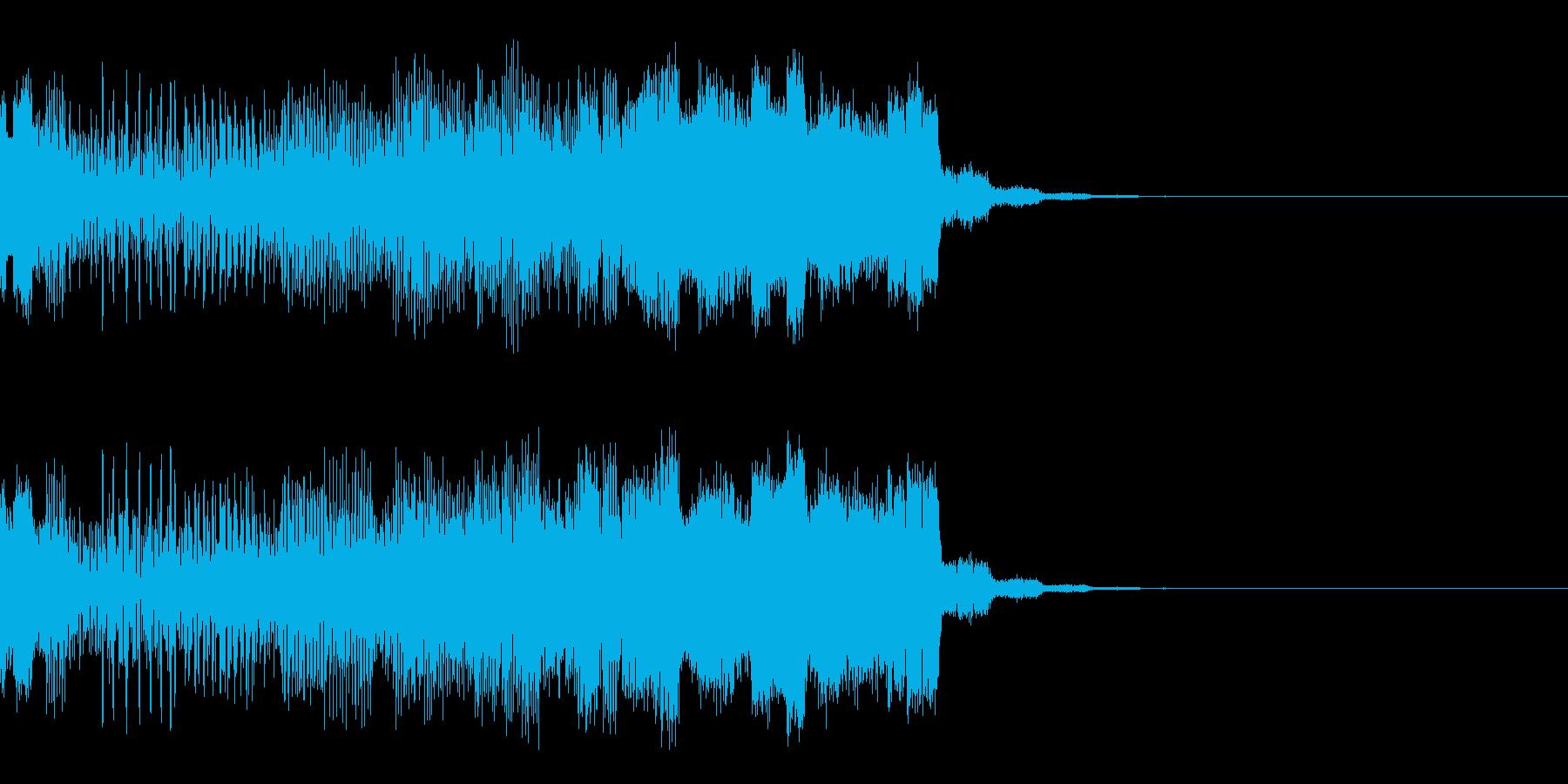パチンコ的アイテム獲得音02(電子音)の再生済みの波形