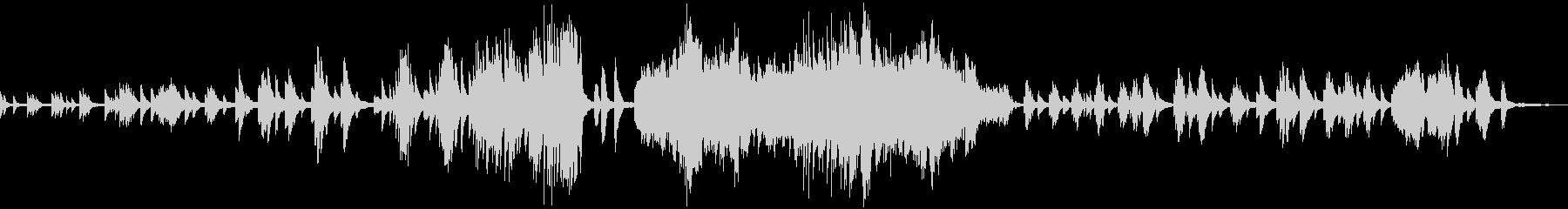 ドビュッシー 月の光 ピアノソロの未再生の波形