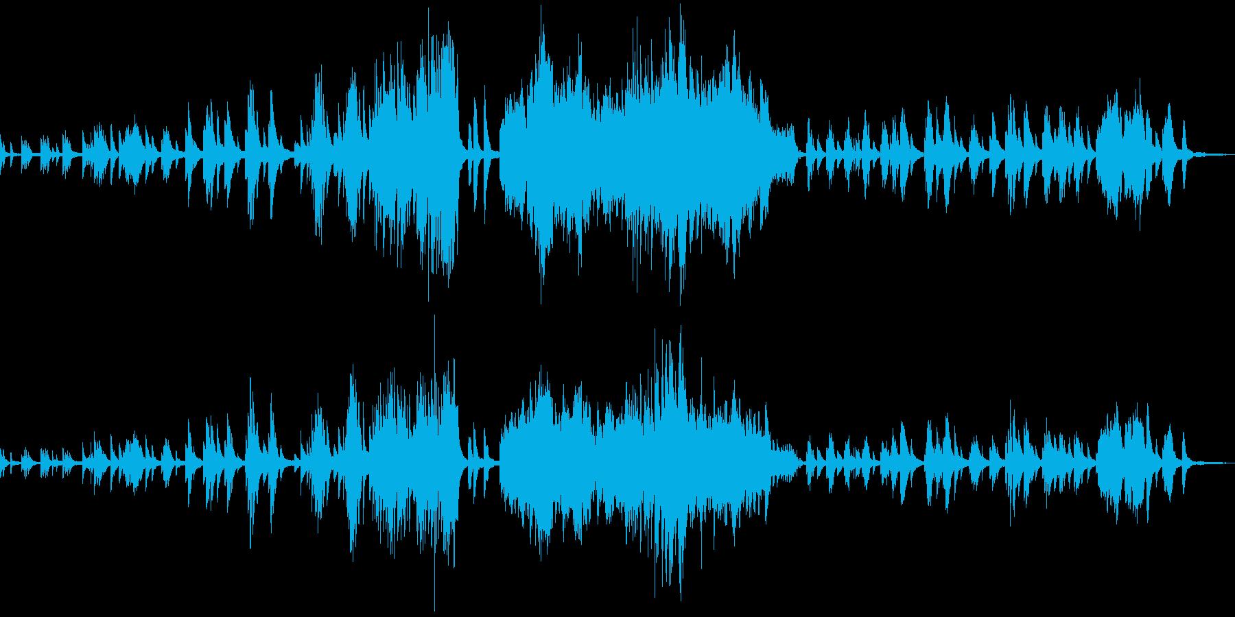 ドビュッシー 月の光 ピアノソロの再生済みの波形