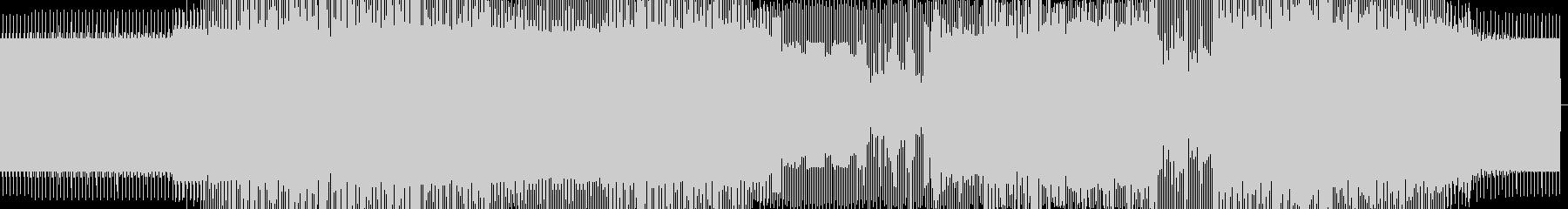 奇麗な音のミニマルハウスの未再生の波形
