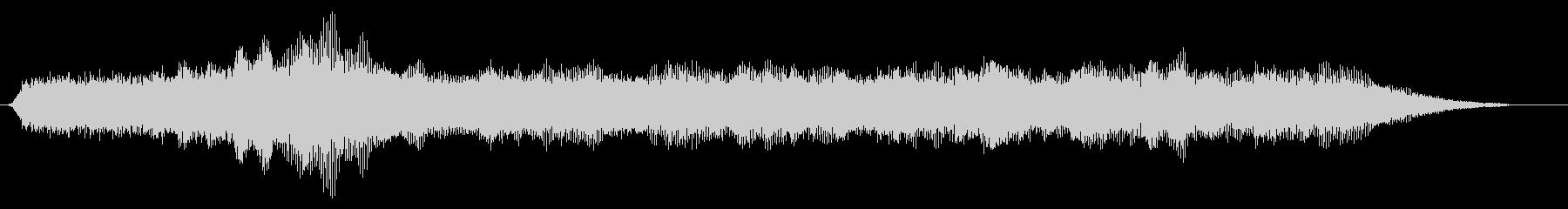 トランジション パッドスイープシズル01の未再生の波形