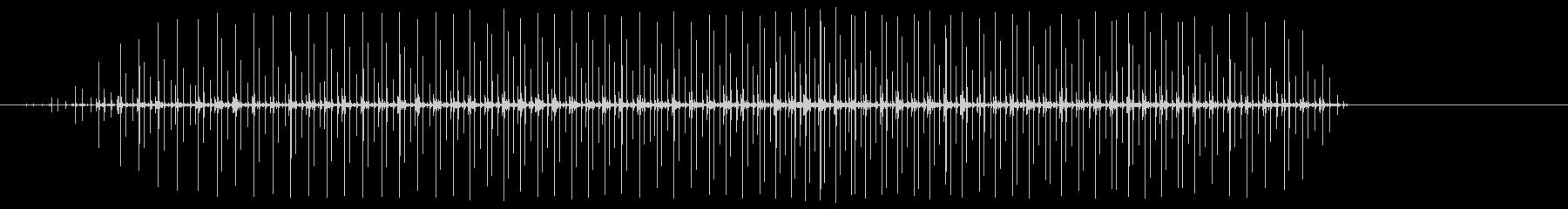 スピードバッグ:一定のパンチング、...の未再生の波形