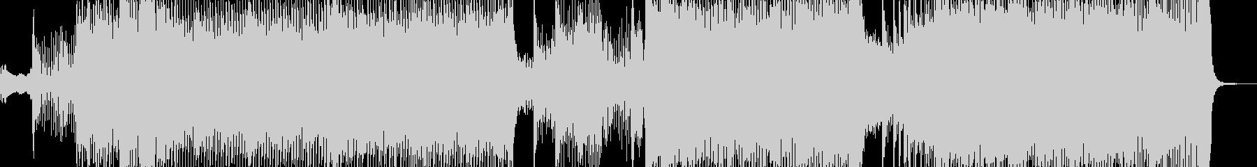 刺激的で切り込むシーンに エレキ有L2の未再生の波形