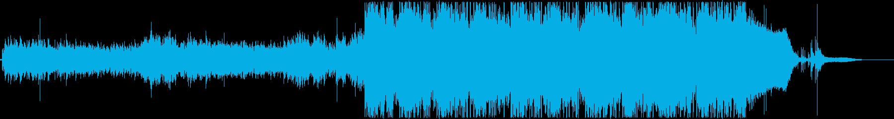 幻想的でファンタジックなepic曲の再生済みの波形