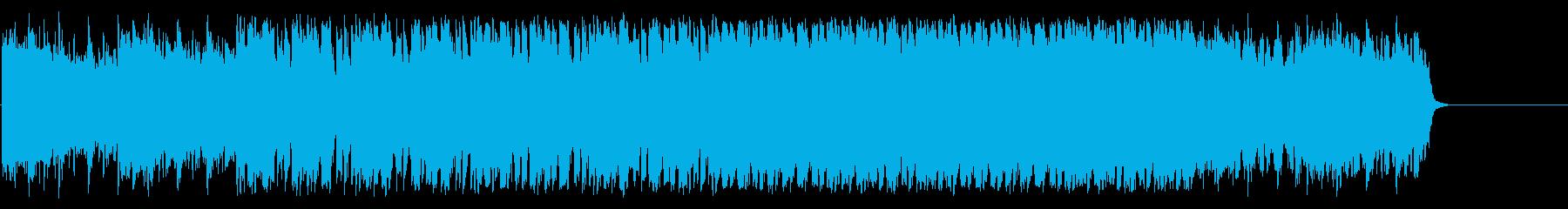 インフォメーション 天気予報 ゆったりの再生済みの波形