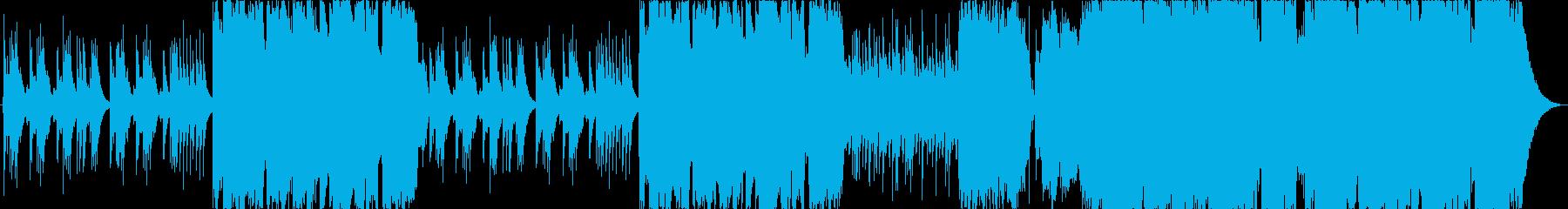 尺八と琴が印象的で心へ響く和風楽曲の再生済みの波形
