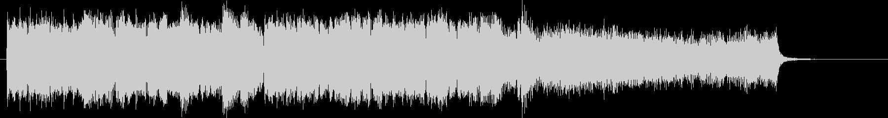 アイルランド民族楽器のケルト音楽バラードの未再生の波形