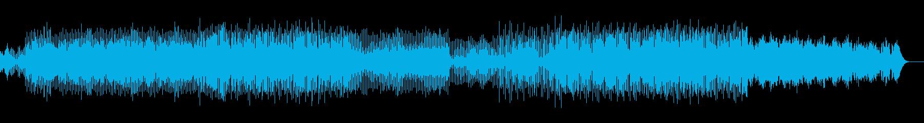 POPで明るい元気なテクノロックサウンドの再生済みの波形