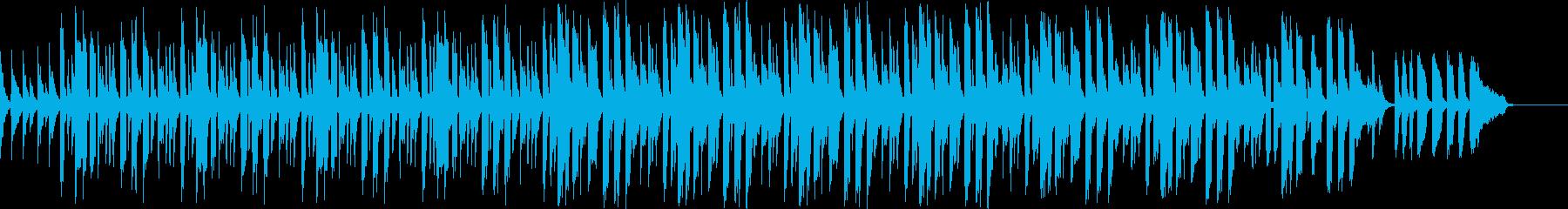 bpm80スローテンポバージョンの再生済みの波形