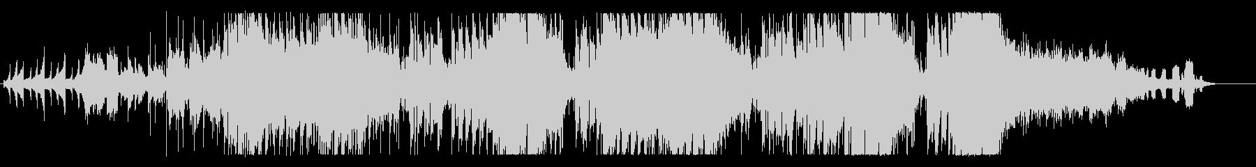 オシャレな定番のバースデーソングの未再生の波形