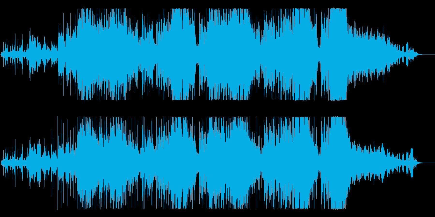 オシャレな定番のバースデーソングの再生済みの波形