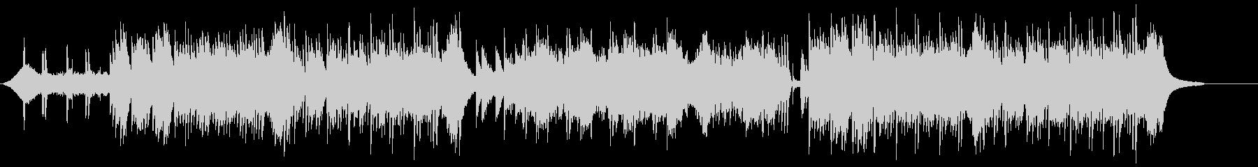ピアノ主体の和風ホラー、伝奇系 1の未再生の波形