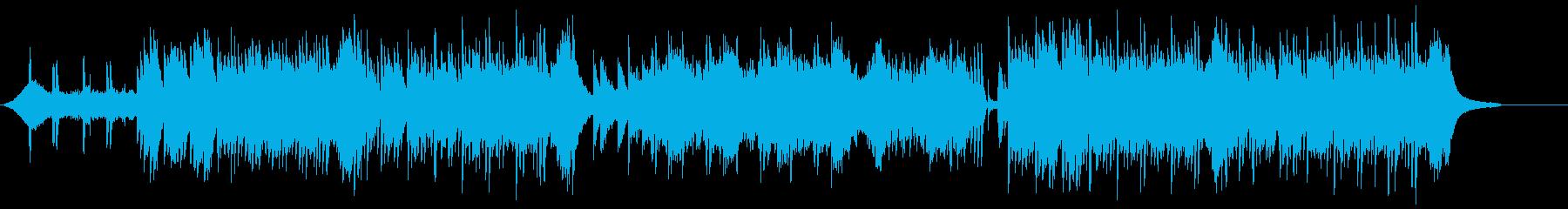 ピアノ主体の和風ホラー、伝奇系 1の再生済みの波形