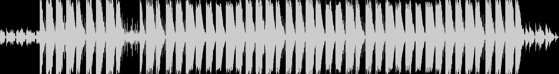 チルで幻想的な雰囲気のヒップホップの未再生の波形