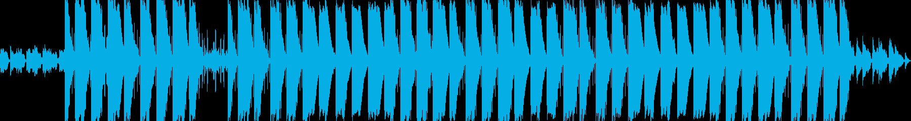 チルで幻想的な雰囲気のヒップホップの再生済みの波形