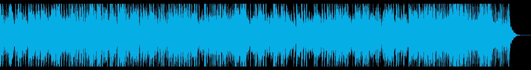 生音・陽気で楽しいブルーグラスの再生済みの波形