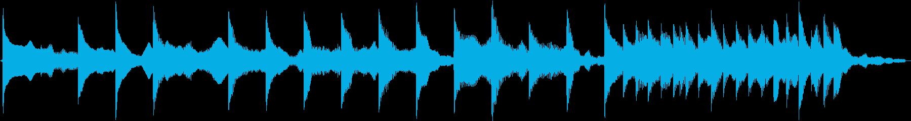 電車の発車メロディ(発着音)002の再生済みの波形