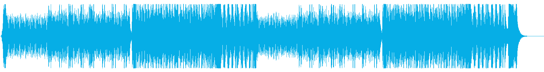 疾走感のあるバトル曲 アコーディオンの再生済みの波形