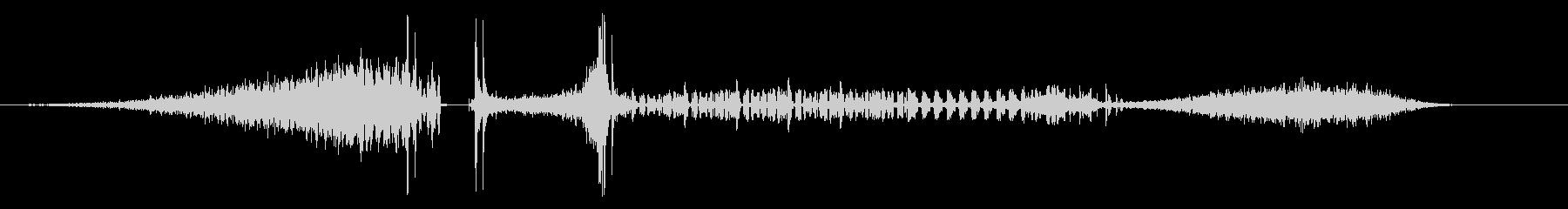 【映画】 TONAL_06 タイトルロゴの未再生の波形