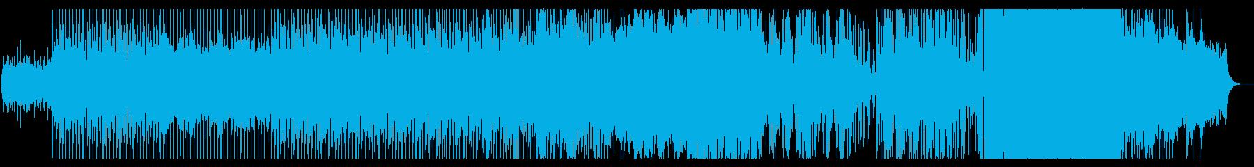 革命前夜の音の再生済みの波形