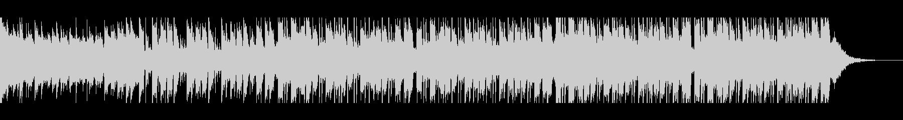 幸せなラマダン(60秒)の未再生の波形